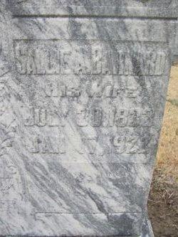 Sallie Ann <i>Barnard</i> Bell