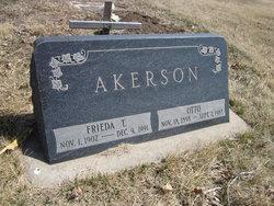 Frieda T <i>Carlson</i> Akerson