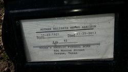 Malissia Mother <i>Henry</i> Adkison