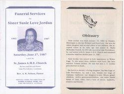Susie <i>Love</i> Jordan