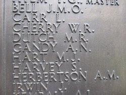 Second Engineer Officer Arthur Norman Gandy