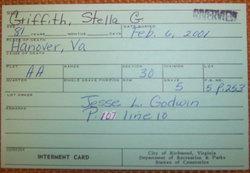 Stella Geneva <i>Godwin</i> Griffith