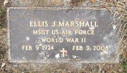 Sgt Ellis Jarrell Marshall