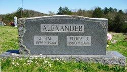 Flora J <i>Pegram</i> Alexander