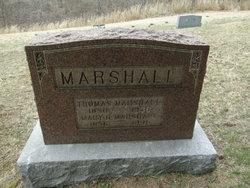 Mary Hannah <i>Miller</i> Marshall