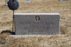 Sgt Kenneth R. Lorenz
