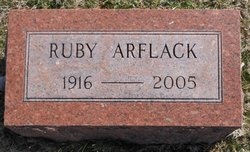Ruby Byrd <i>McDaniel</i> Arflack