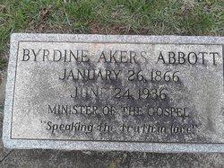 Byrdine Akers Abbott