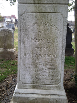 Mary Elizabeth <i>Walker</i> Archer