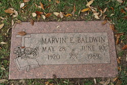 Marvin E Baldwin