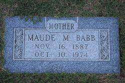 Maude Amanda <i>Meadors</i> Babb