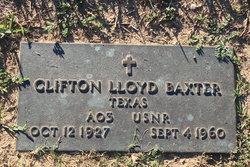 Clifton Lloyd Baxter