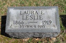 Laura E <i>Petty</i> Leslie