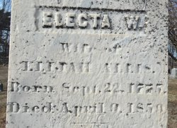 Electa <i>White</i> Allis