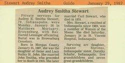 Audrey Smitha <i>St John</i> Stewart