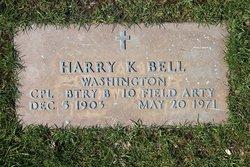 Harry K Bell