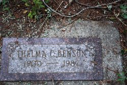 Thelma C Benson