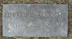 Edward E Albright