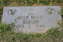 Ollie Marie Skip <i>Wilson</i> Hobson