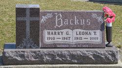 Harry George Backus