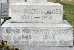 Rev Joseph Henry Amiss