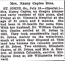 Nancy E. <i>Nowell</i> Caples