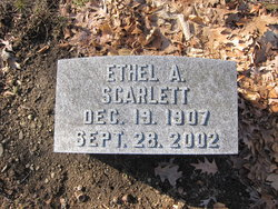 Ethel <i>Freeman</i> Scarlett