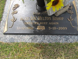 Mary Lee <i>Melton</i> Bishop
