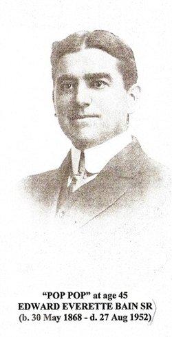 Edward Everett Bain, Sr