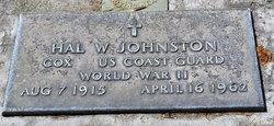 Hal W Johnston