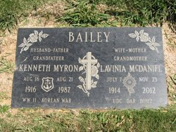 LaVinia Billie <i>McDaniel</i> Bailey