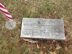 Malcolm Victor Anderson