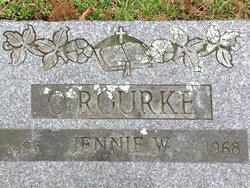 Jennie White <i>Keene</i> O'Rourke