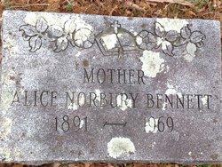 Alice Norbury Bennett