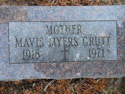 Mavis Margaret <i>Myers</i> Grutt