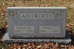 Pearl E <i>Marsden</i> Ainsworth