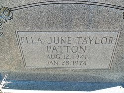 Ella June <i>Taylor</i> Patton