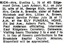 Evelina L. <i>MacIntosh</i> Rich