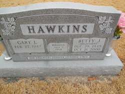 Betty J. <i>Halderman</i> Hawkins