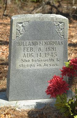 Holland Melissa <i>Jones</i> Norman