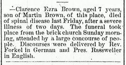 Clarence Ezra Brown