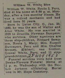 William Winfield White