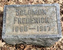 Solomon M Frederick