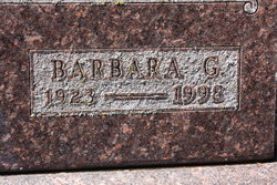 Barbara Gwen Glover