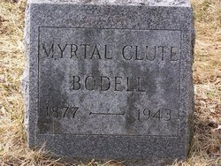 Myrtle <i>Clute</i> Bodell