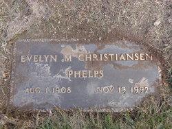 Evelyn Marie <i>Christiansen</i> Phelps