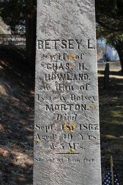Betsey L <i>Morton</i> Howland