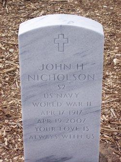 John H Nicholson