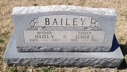 Hazel V <i>Pendleton</i> Bailey