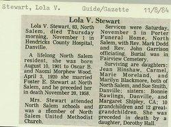 Lola Vera <i>Wood</i> Stewart